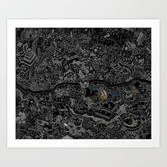 ville une Art Print
