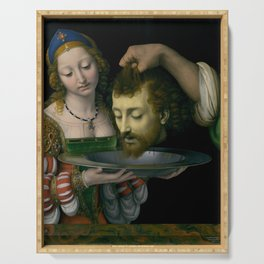 Salome with the Head of Saint John the Baptist - Andrea Solario Serving Tray