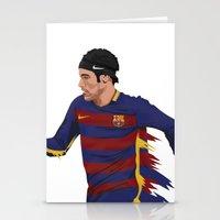 neymar Stationery Cards featuring Neymar  by siddick49
