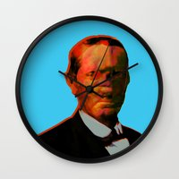 chuck Wall Clocks featuring - chuck - by Digital Fresto