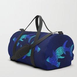 Ombre Blues Hammerhead Duffle Bag
