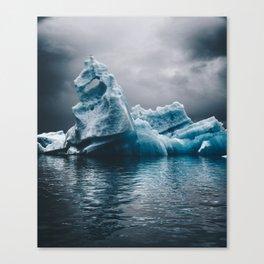 iceberg in iceland Canvas Print