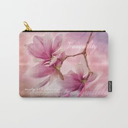 Tranquility - Magnolia Flower (Creative Collection) Carry-All Pouch