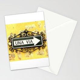 Una Via Stationery Cards
