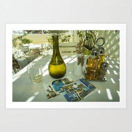 Postcards from Crete Art Print