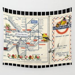 You Like This in London Wall Tapestry