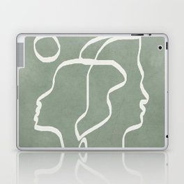 Abstract Faces Laptop & iPad Skin