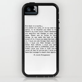 F. Scott Fitzgerald iPhone Case