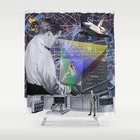 fig Shower Curtains featuring Fig.2. by TRASH RIOT