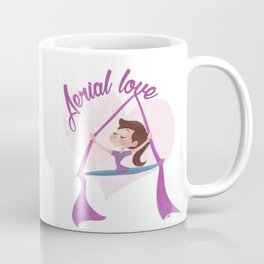 Aerial love (girl version) Coffee Mug
