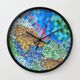 INSPIRED BY GAUDI Wall Clock