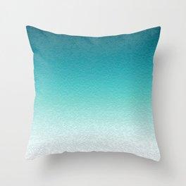 Healing Calming Gradient Texture Throw Pillow