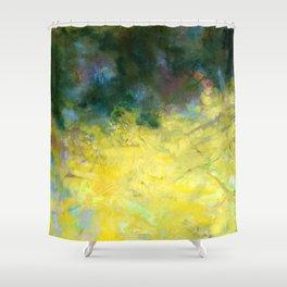 Forsythia Spring Shower Curtain