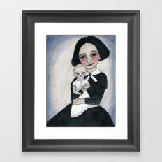 Miss Eva and Elsie Framed Art Print