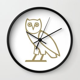 Owl Ovoxo Wall Clock