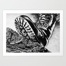 B O O T  Art Print