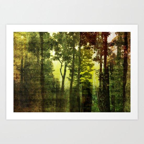 Landscape ~ Abstract Art Print