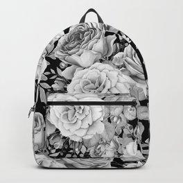 ROSES ON DARK BACKGROUND Backpack