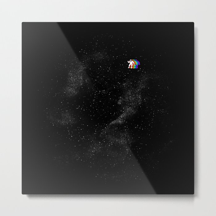 Gravity V2 Metal Print