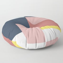 Abstract Geometric 05 Floor Pillow