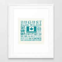 custom Framed Art Prints featuring custom by Becky McCreary