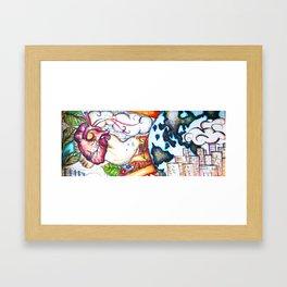 Organized Chaos Framed Art Print