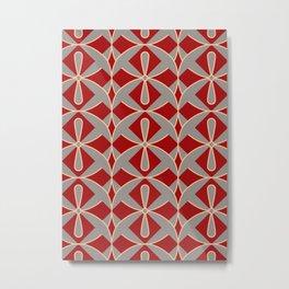 Provencal Red Metal Print