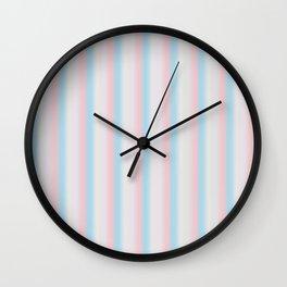 Candy stripe Wall Clock