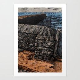 Aberystwyth Lighthouse Art Print