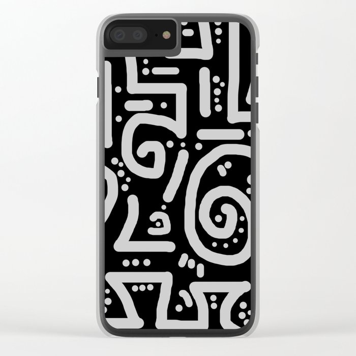 Path Less Traveled Clear iPhone Case