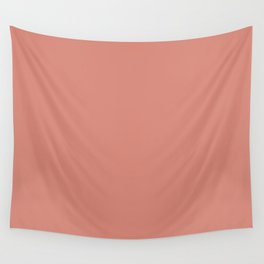 Canyon Clay Coral Tan | Solid Colour Wall Tapestry
