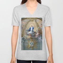 Placido Costanzi Immaculate Conception Unisex V-Neck
