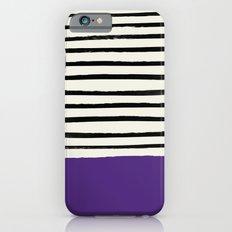 Purple Grape x Stripes Slim Case iPhone 6s