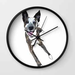 Chelsea Dog Wall Clock