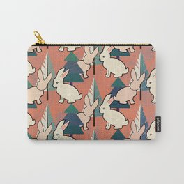 Bunnies and Trees 1 Carry-All Pouch