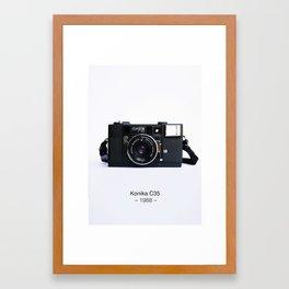 Konika C35 Framed Art Print