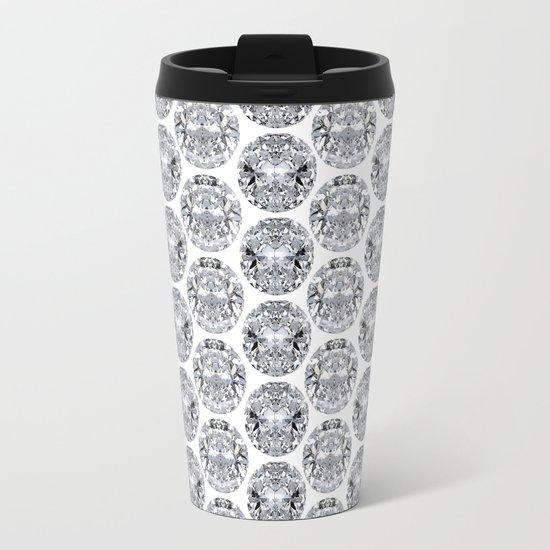 Oval Metal Travel Mug