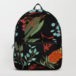 Australian Botanicals - Black Backpack