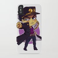 jjba iPhone & iPod Cases featuring ORA by Bettwitch
