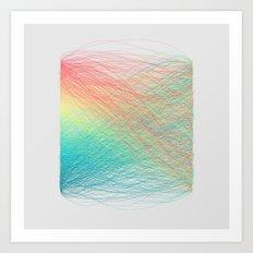 Hue Remix Rainbow 2 Art Print