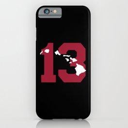 Aloha Tua iPhone Case