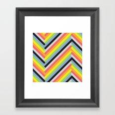 BP 36 Stripes Framed Art Print