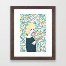 Helena Framed Art Print