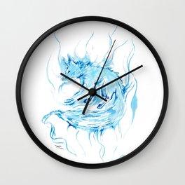 Patronus - Fox Wall Clock