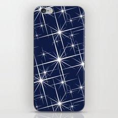 Indigo Navy Blue Starry Night iPhone Skin
