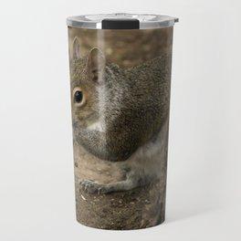 Woodland grey squirrel Travel Mug