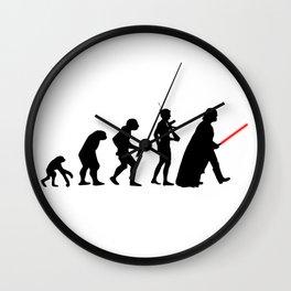 Dark Side Evolution Darth Vader Wall Clock