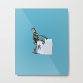 Hump bot Metal Print