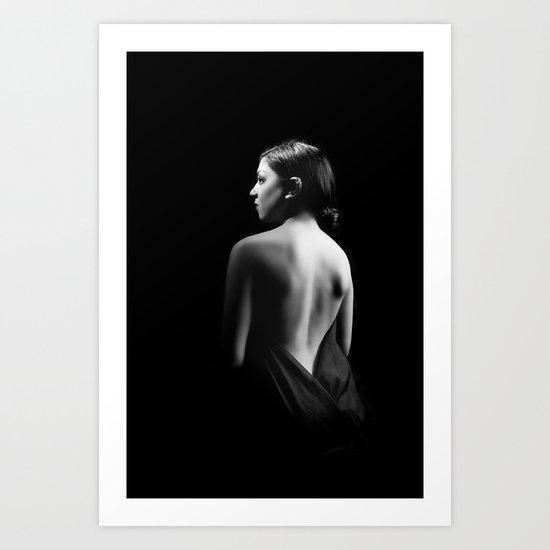 Glamour Darkness Art Print