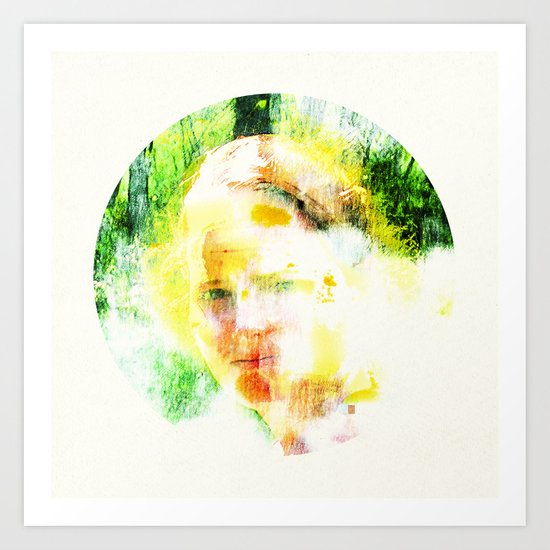 Miss. Sunshine_2  Art Print